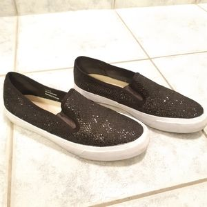Women glitter sneakers by Expression size 8